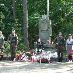 """Obchody 74. rocznicy """"Akcji Burza"""" i Bitwy Partyzanckiej pod Pecynką"""