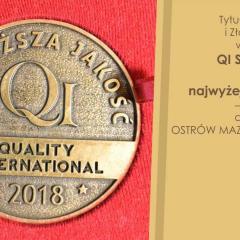 Złote Godło dla Miasta Ostrów Mazowiecka za usługi najwyższej jakości