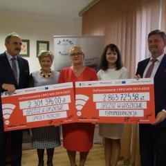 W Wyszkowie zostały podpisane kolejne umowy na dofinansowanie szpitala powiatowego
