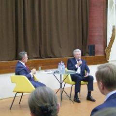 Jerzy Bauer kontra Mieczysław Szymalski w debacie wyborczej