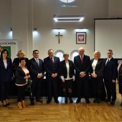 Uroczyste rozpoczęcie pięcioletniej kadencji burmistrza i Rady Miejskiej w Łochowie