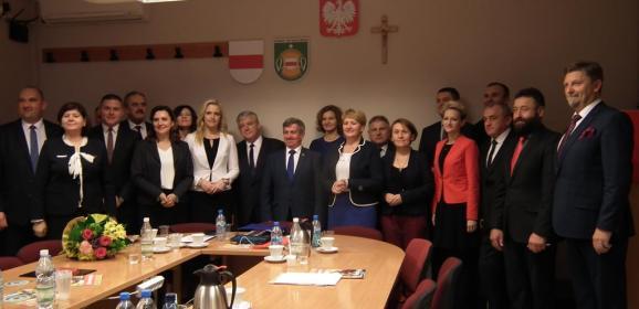 Powiat wyszkowski ma nowego starostę, wicestarostę i zarząd