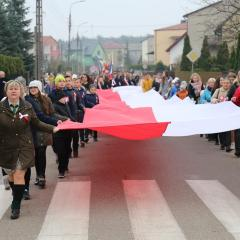 """""""Niepodległa łączy pokolenia"""" – 100. Rocznica Odzyskania przez Polskę Niepodległości – uroczystości gminne"""