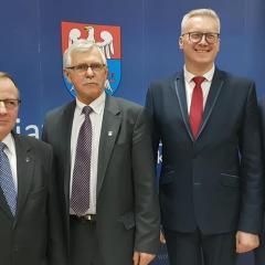 ADAM LUBIAK nowym Starostą Wołomińskim, ROBERT PERKOWSKI nowym Przewodniczącym Rady Powiatu Wołomińskiego