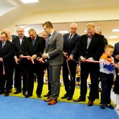 Radość z otwarcia nowego skrzydła przedszkolnego w Starych Załubicach