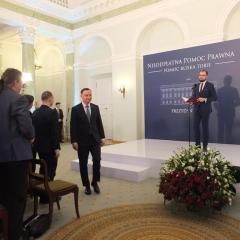 Prezydent RP Andrzej Duda zaprosił media lokalne i regionalne do współpracy