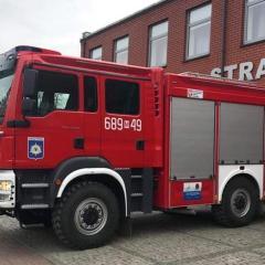 Nowy samochód ratowniczo-gaśniczy radzymińskich strażaków