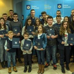 Wręczono Nagrody Burmistrza Radzymina za Osiągnięcia Sportowe 2018 r.
