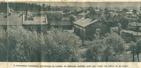 Poszukujemy starych zdjęć Łochowa