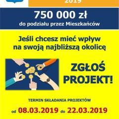 Rusza kolejna edycja Radzymińskiego Budżetu Obywatelskiego. Do podziału 750 tys. złotych!!!