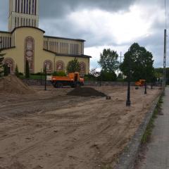Zagospodarowanie terenu wokół Bazyliki Mniejszej w Prostyni