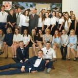 UROCZYSTE ZAKOŃCZENIE ROKU SZKOLNEGO UCZNIÓW KLAS III I LO PUL im. 111 Eskadry Myśliwskiej w Wołominie