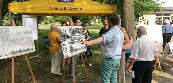 Radzymin konsultuje przyszłość centrum miasta z mieszkańcami