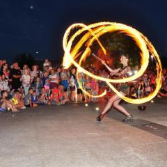 Feeria ognia i wody, czyli oficjalne otwarcie Placu Miejskiego w Wyszkowie