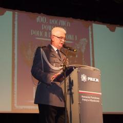 Święto Policji w Wyszkowie w 100. rocznicę  powołania Policji Państwowej
