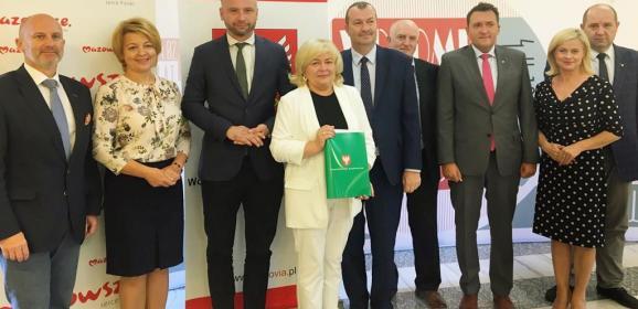 Milion złotych wsparcia dla gmin powiatu wołomińskiego
