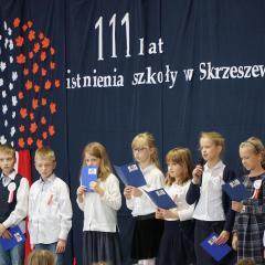 111 lat tradycji Szkoły Podstawowej im. Kornela Makuszyńskiego w Skrzeszewie