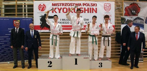 Brązowy medal zdobyty podczas XX Mistrzostw Polski w Makowie Mazowieckim!