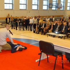 BEZPIECZNA SZKOŁA – szkolenie dla przedstawicieli placówek oświatowych oraz jednostek samorządu terytorialnego z terenu powiatu ostrowskiego