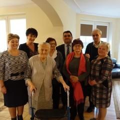 100. rocznica urodzin P.Feliksy Abramczuk, mieszkanki Gminy Łochów