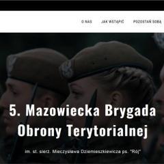 Ruszyła strona internetowa mazowieckich Terytorialsów