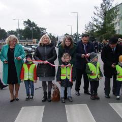 Uroczyste otwarcie ulicy Przedszkolnej