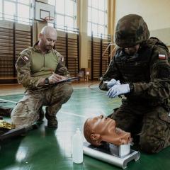 Najlepsi z najlepszych przeszkolą wojskowych medyków z 5 Brygady