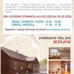 Izba Pamięci i Tradycji Rybackich będzie ponownie otwarta dla zwiedzających od 13 maja
