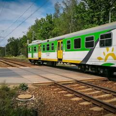 Coraz więcej pociągów
