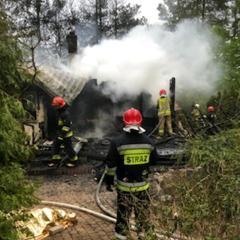 Tragiczny pożar w Łosiu