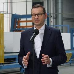Premier Mateusz Morawiecki w Łochowie