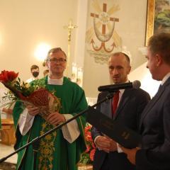 Ksiądz Grzegorz Kucharski mianowany został Honorowym Obywatelem Gminy Wieliszew
