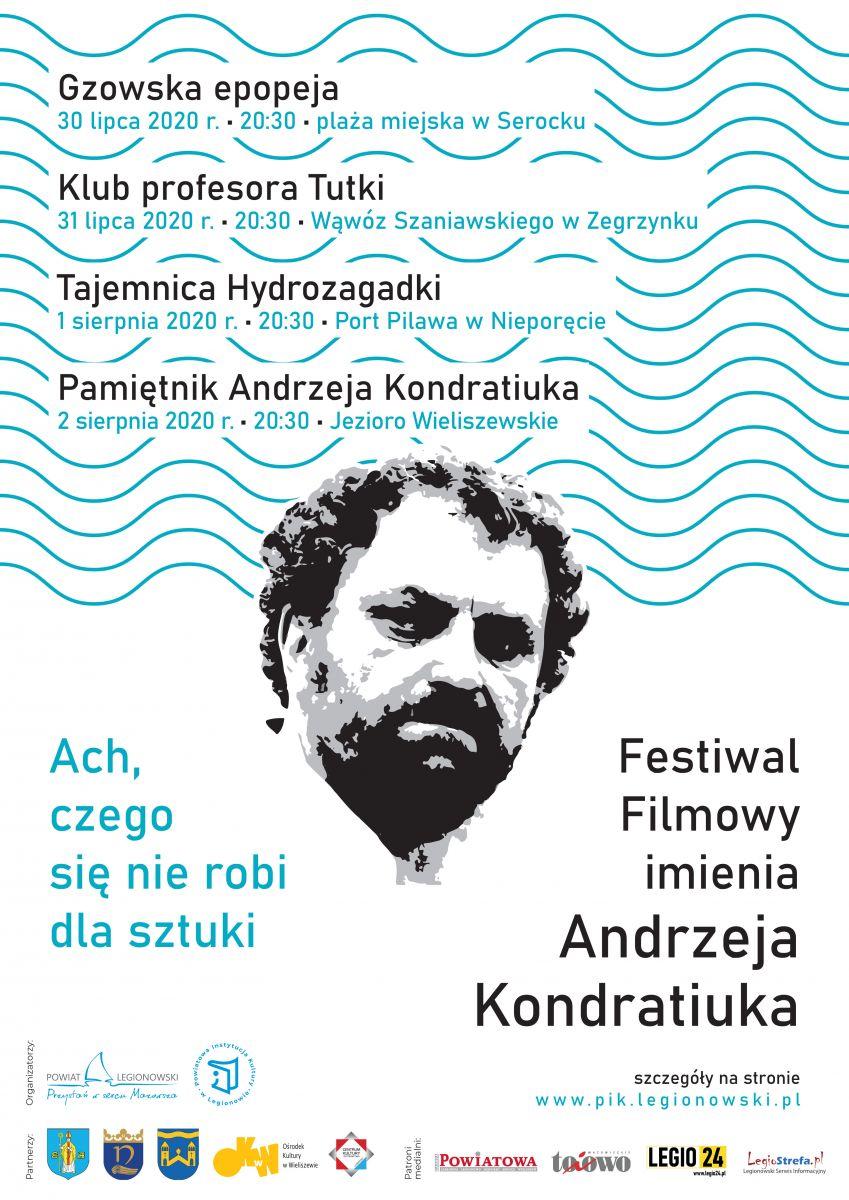 Festiwal Filmowy w Serocku, Zegrzynku, Nieporęcie i Wieliszewie!