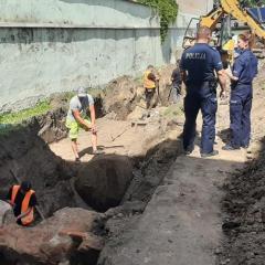Czy teren pułtuskiej jednostki Policji okaże się miejscem pochówku zamordowanych żołnierzy?