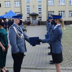 Święto Policji w Komendzie Powiatowej Policji w Węgrowie