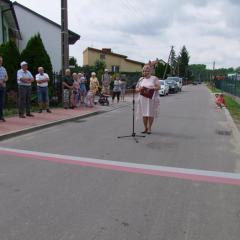 Uroczyste otwarcie ul. Piaski i Lipowej – Piaski w Małkini Górnej