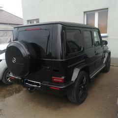 Skradziony Mercedes odzyskany przez ostrowskich policjantów.