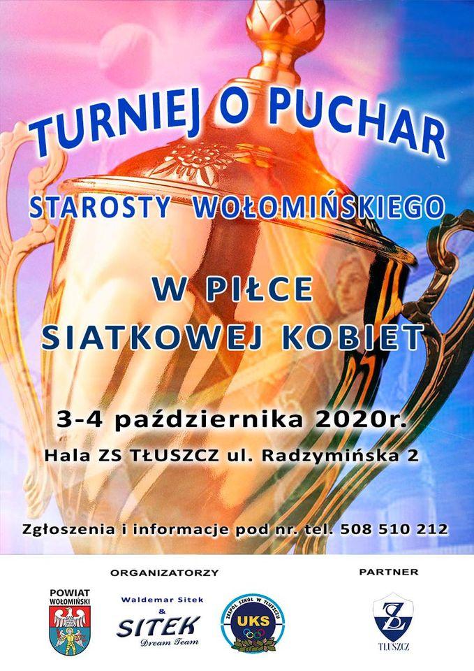 3 – 4.09 Turniej o Puchar Starosty Wołomińskiego Tłuszcz