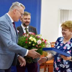 Absolutorium i wotum zaufania dla Zarządu Powiatu Wołomińskiego oraz zmiana na stanowisku Skarbnika