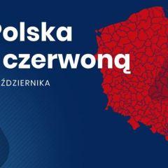 Cała Polska w czerwonej strefie zakażeń PAMIĘTAJMY I STOSUJMY SIĘ DO ZASAD BEZPIECZEŃSTWA!
