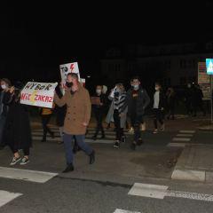 Protesty po wyroku Trybunału Konstytucyjnego także w Wyszkowie
