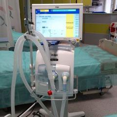 Węgrowski szpital z nowym respiratorem