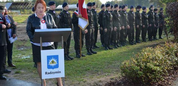 Uroczystość w Mokrem z okazji 100. rocznicy śmierci majora Stefana Waltera