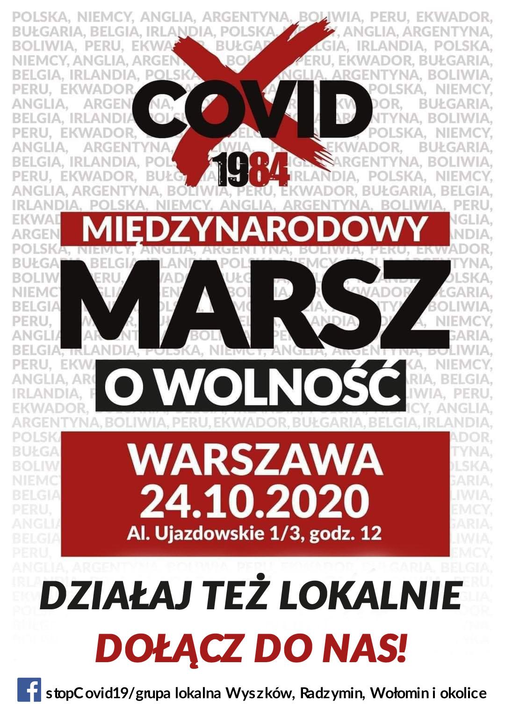 24.10 Marsz Warszawa