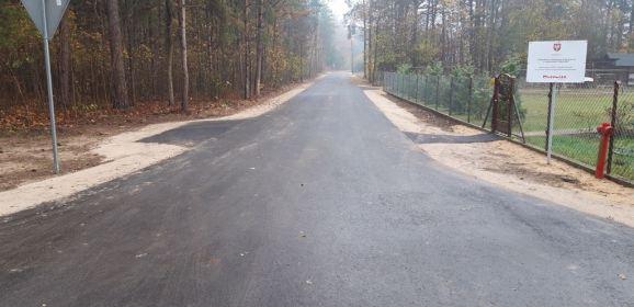 Przebudowa i remonty dróg w gminie Zaręby Kościelne