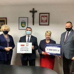 2 miliony zł na wodociąg w Łazach z II naboru Rządowego Funduszu Inwestycji Lokalnych