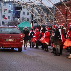 Mikołaj przyjechał do Ostrowi Mazowieckiej i miasto się zablokowało…