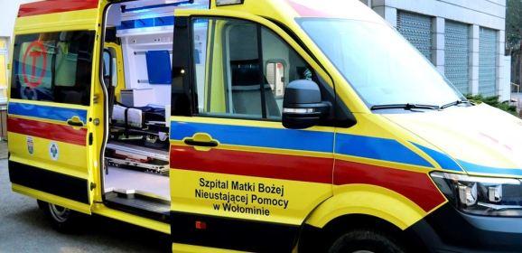 Kolejna nowoczesna karetka dla Szpitala w Wołominie!