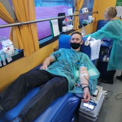 Akcja krwiodawstwa w KW PSP w 2021 roku