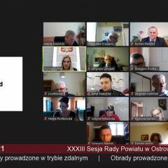 XXXIII Sesja Rady Powiatu w Ostrowi Mazowieckiej